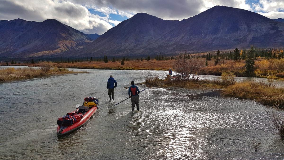 backcountry kayaking