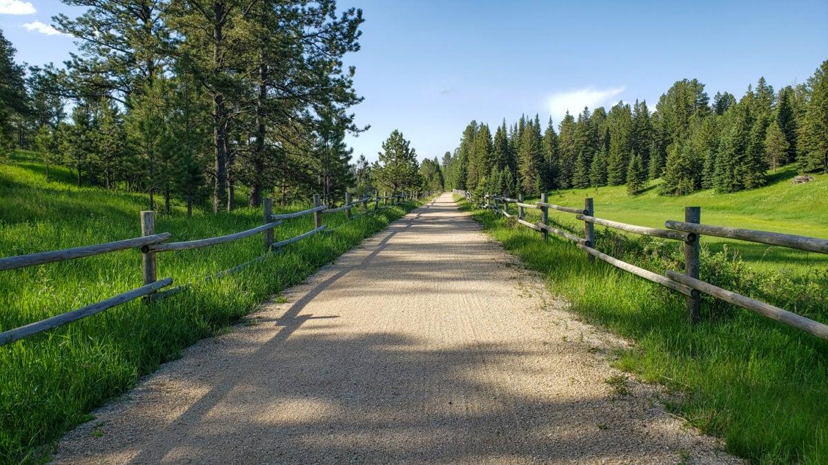 mickelson trail western south dakota