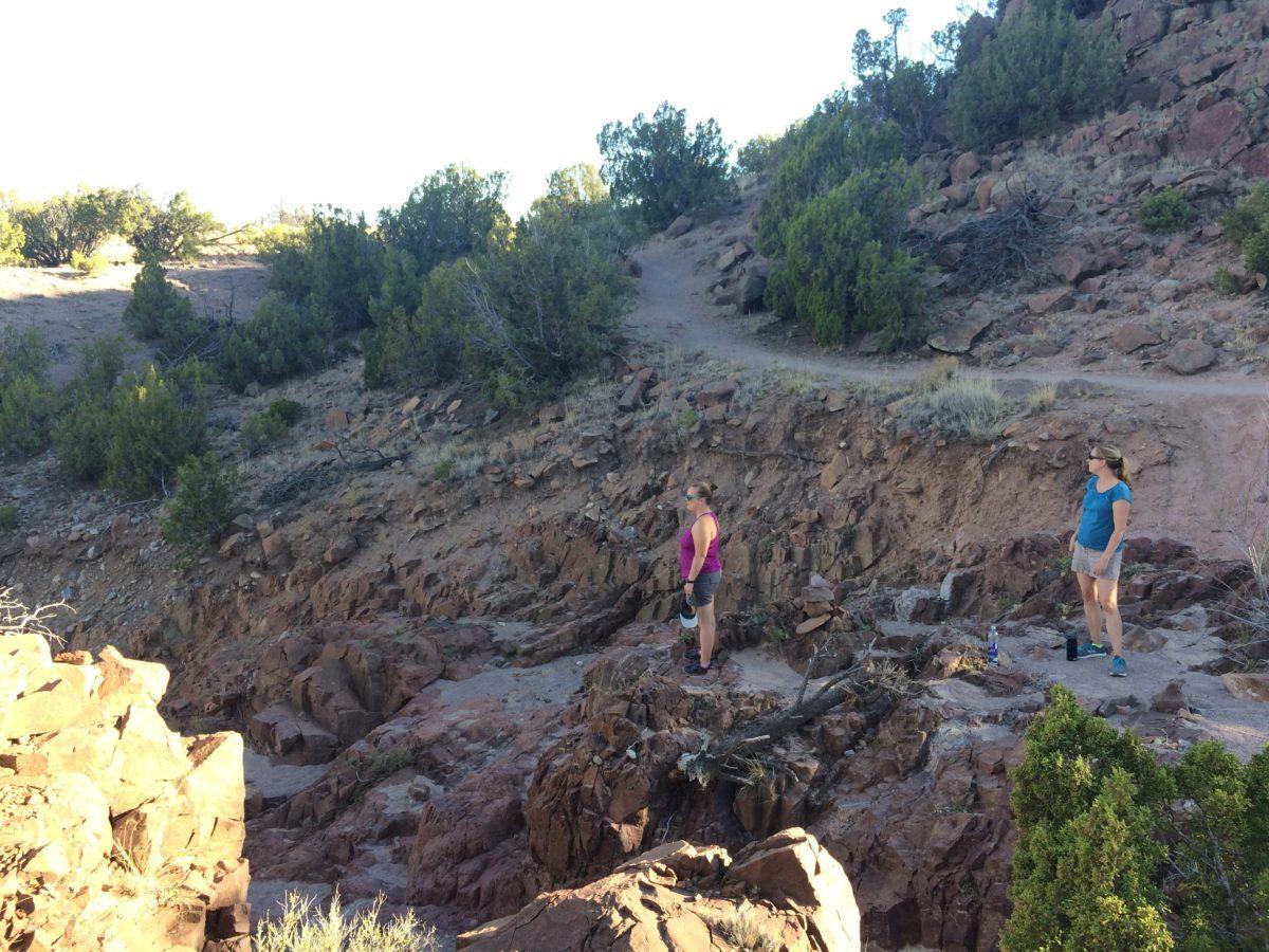 Taos hiking