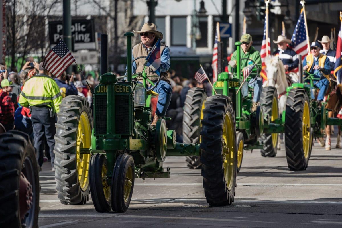 denver western stock show parade
