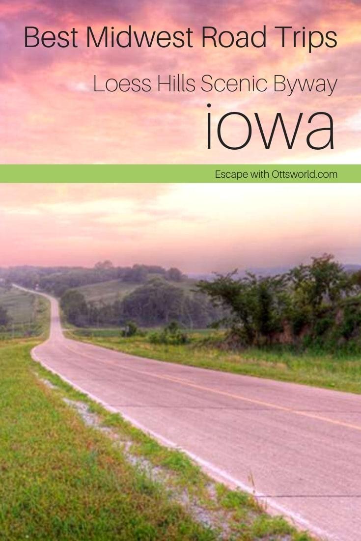 paved road countryside sunset sunrise