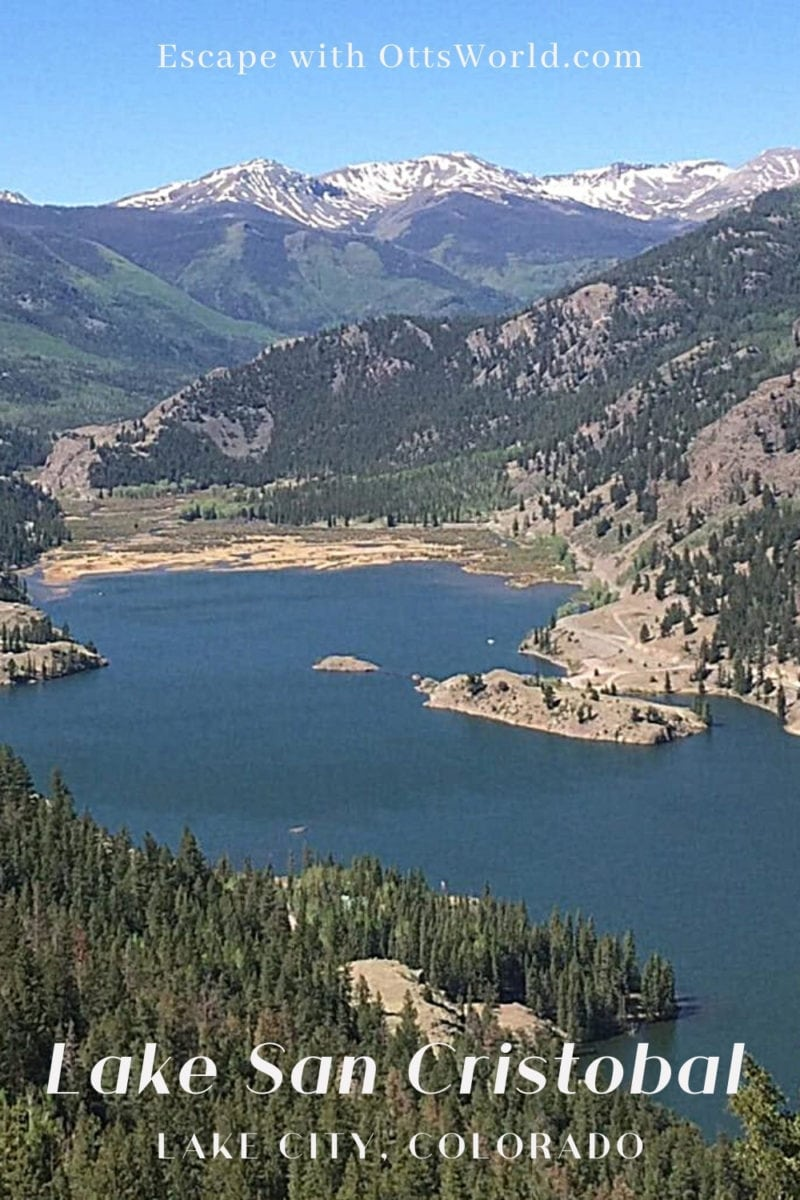Lake San Cristobal Lake City Colorado