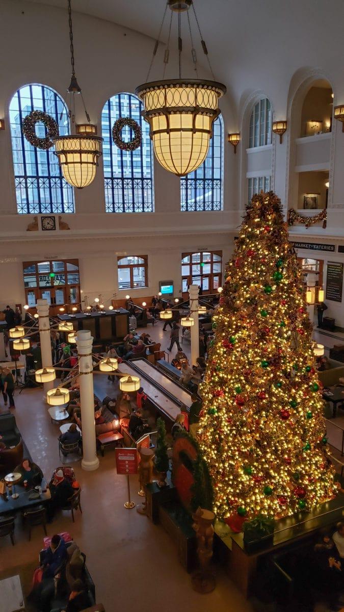 union station christmas denver