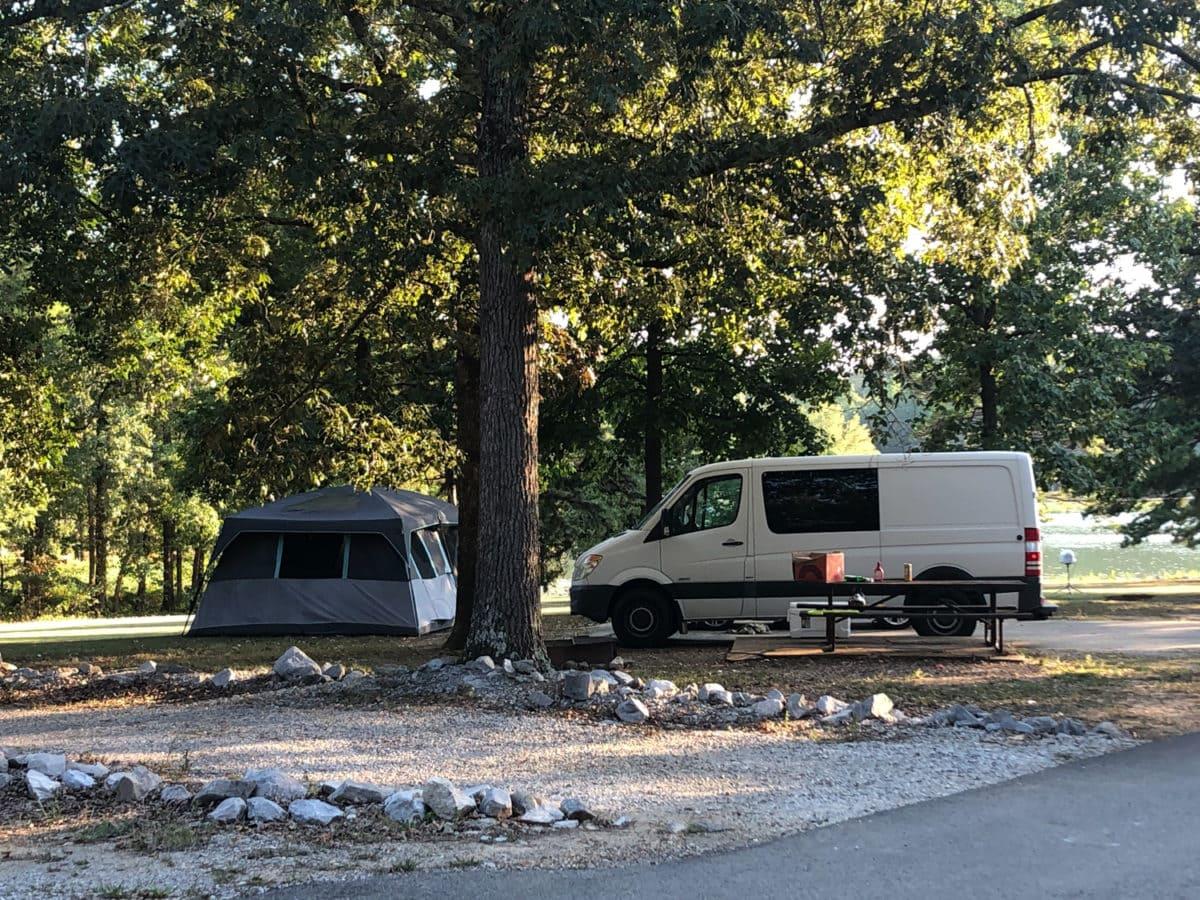 campsite roadtrip