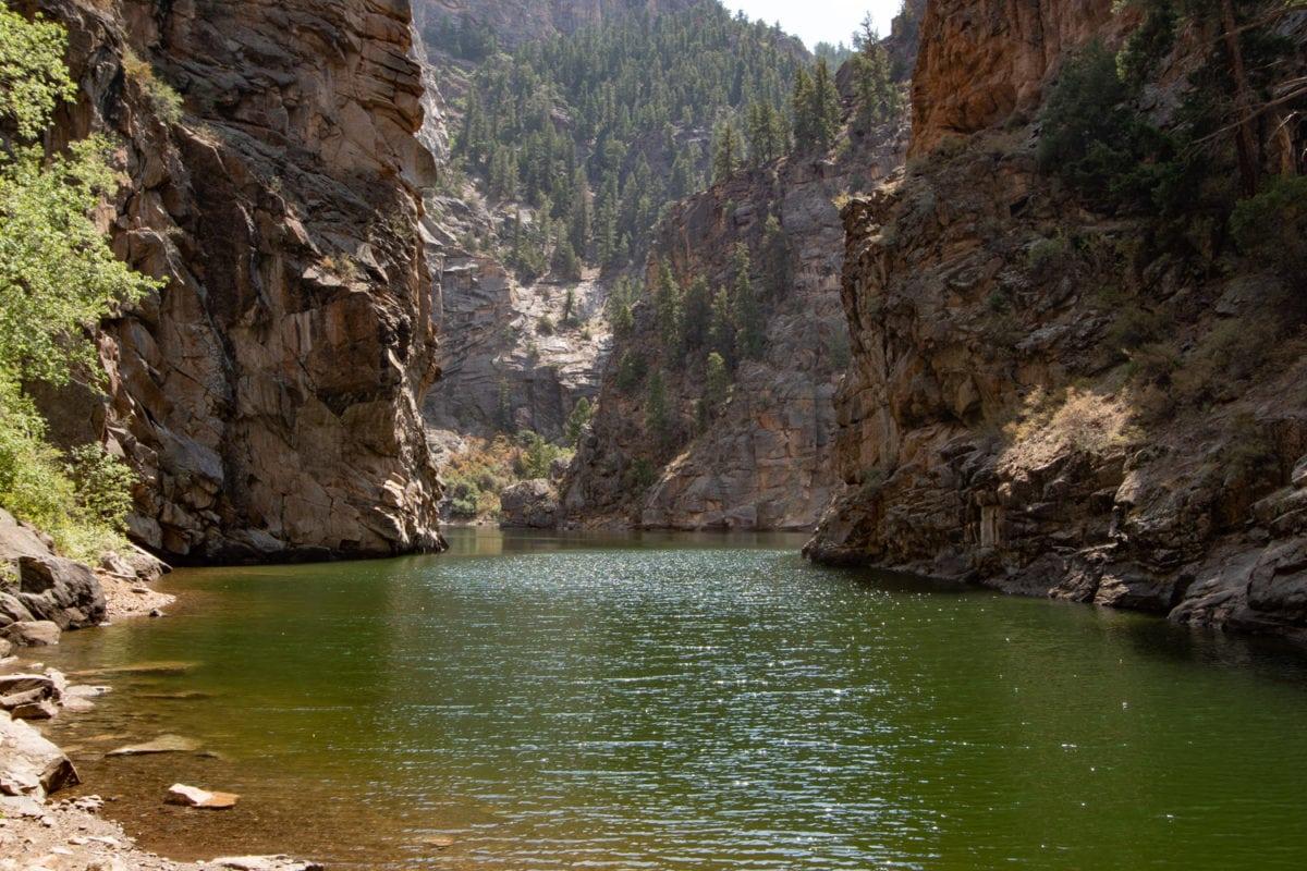 curecanti creek trail hike