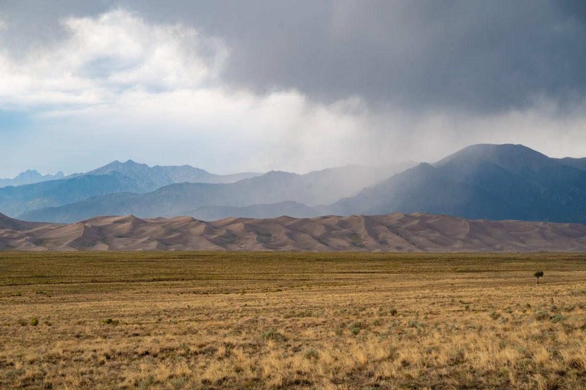 storm colorad sand dunes