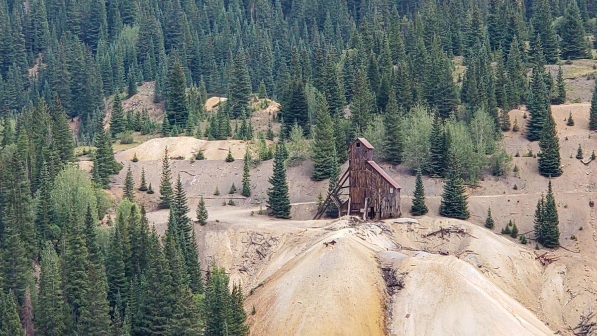 million dollar highway mining
