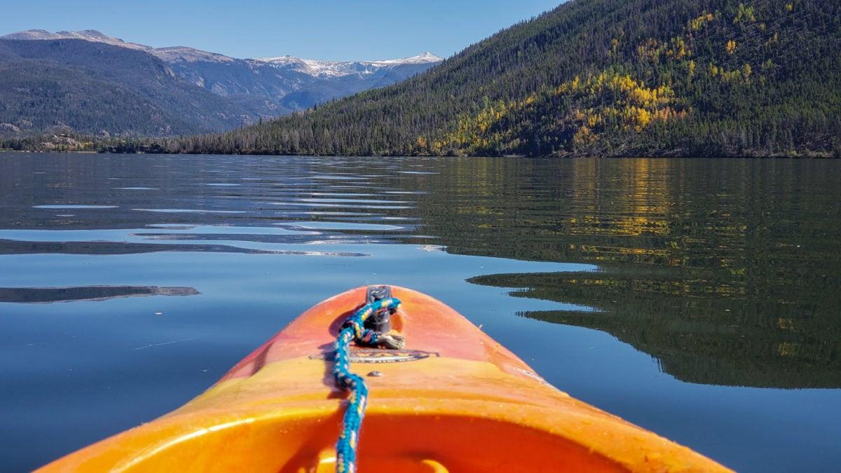 kayak grand lake colorado