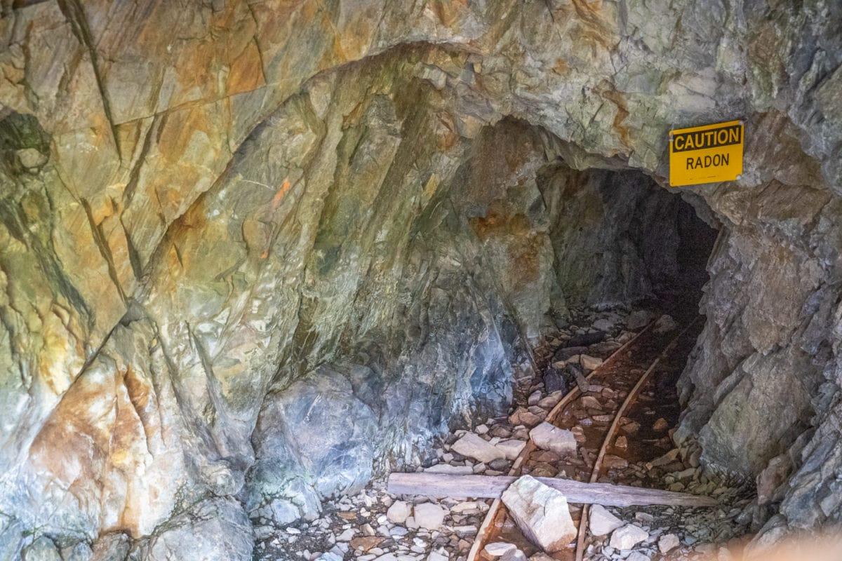 uranium mine hike steamboat
