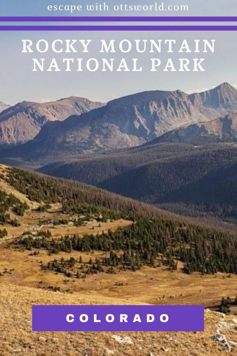 mountains in rocky mountain national park colorado