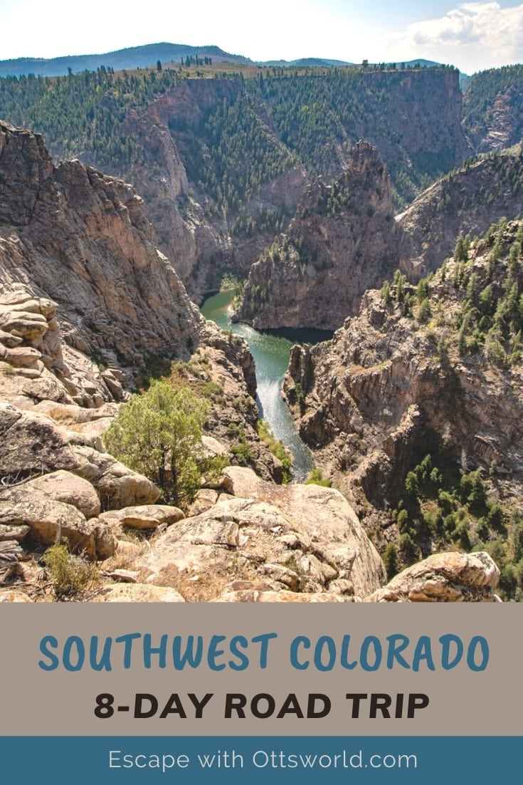 Curecanti Creek Trail Colorado