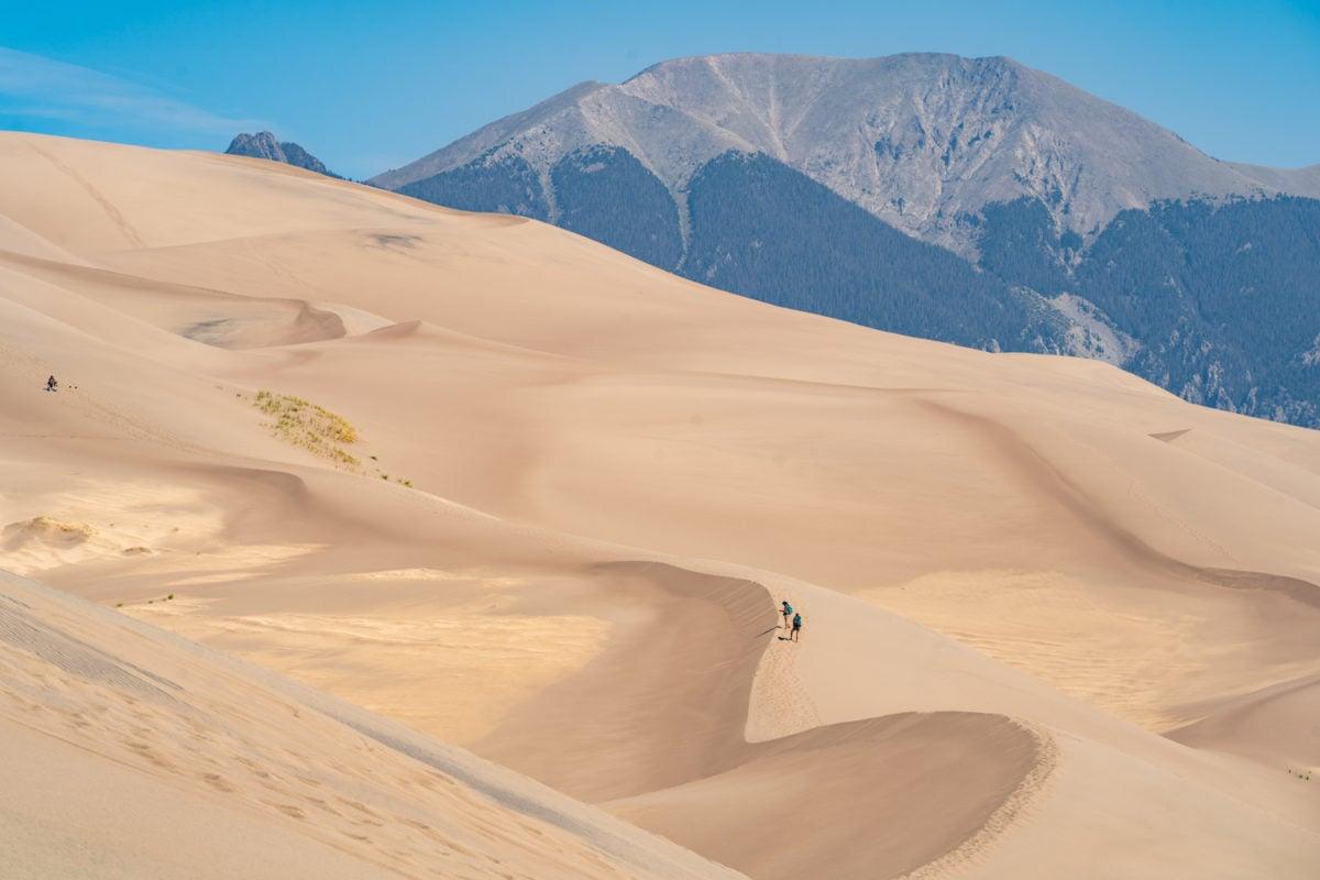 colorado sand dunes solo
