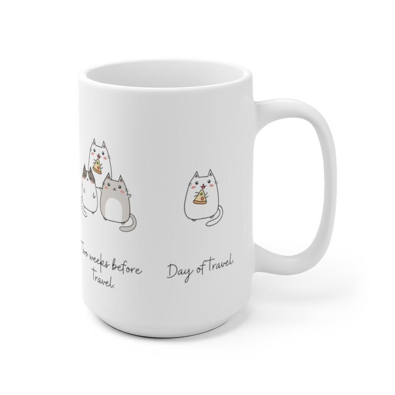 solo travel cat mug