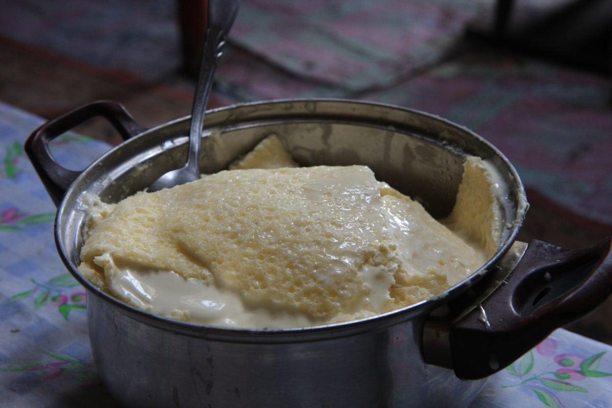 mongolian food fresh cream