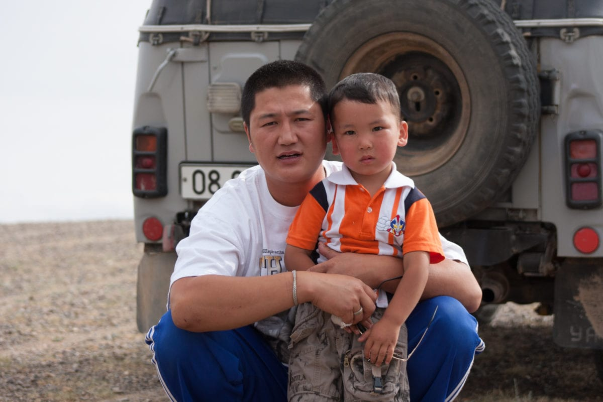 Mongolian driver