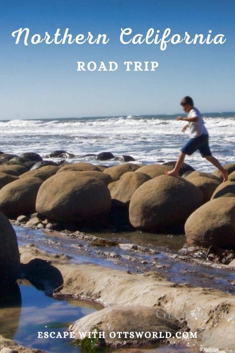 rocky california coastline