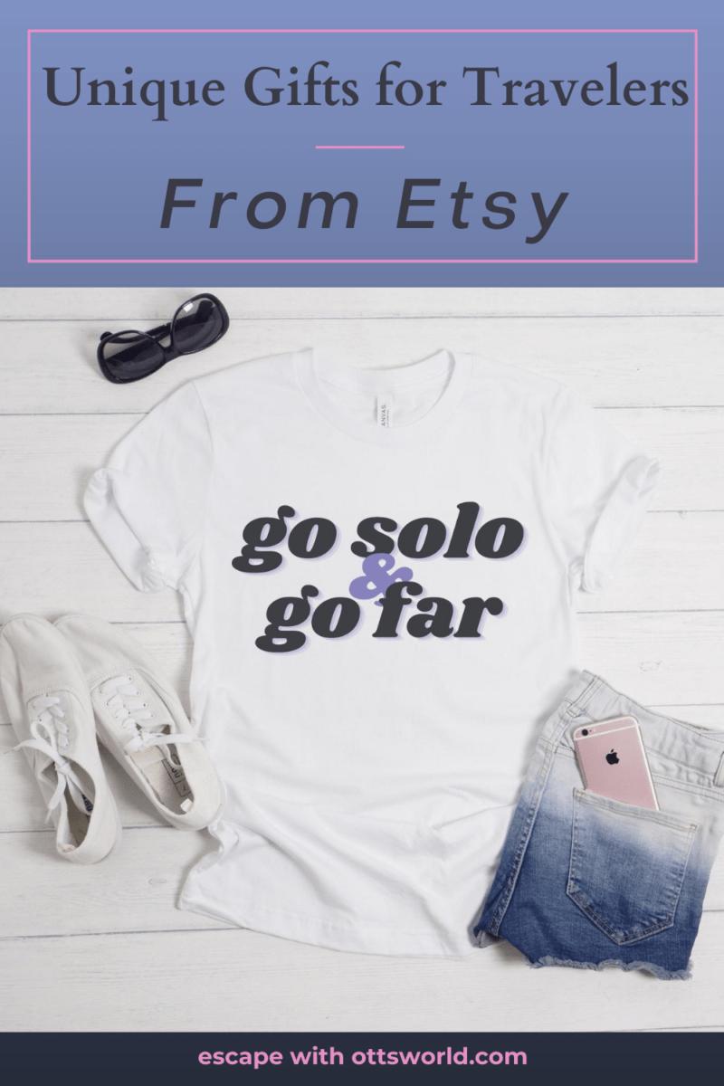 travel themed t-shirt