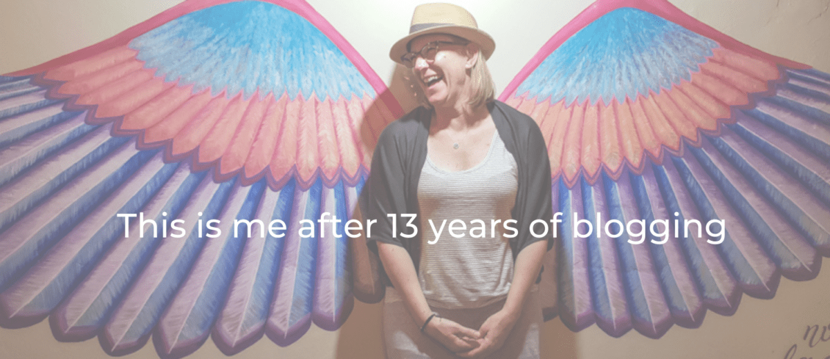 13 years blogging
