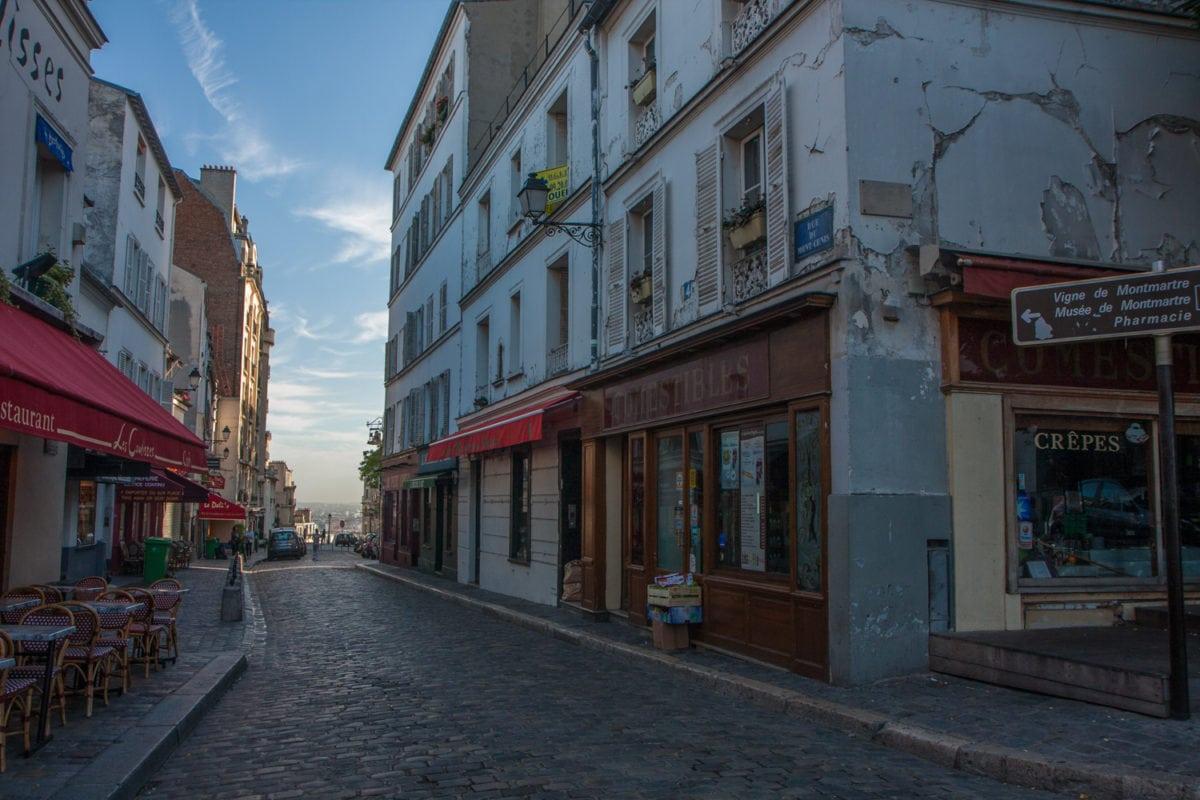 paris morning photography