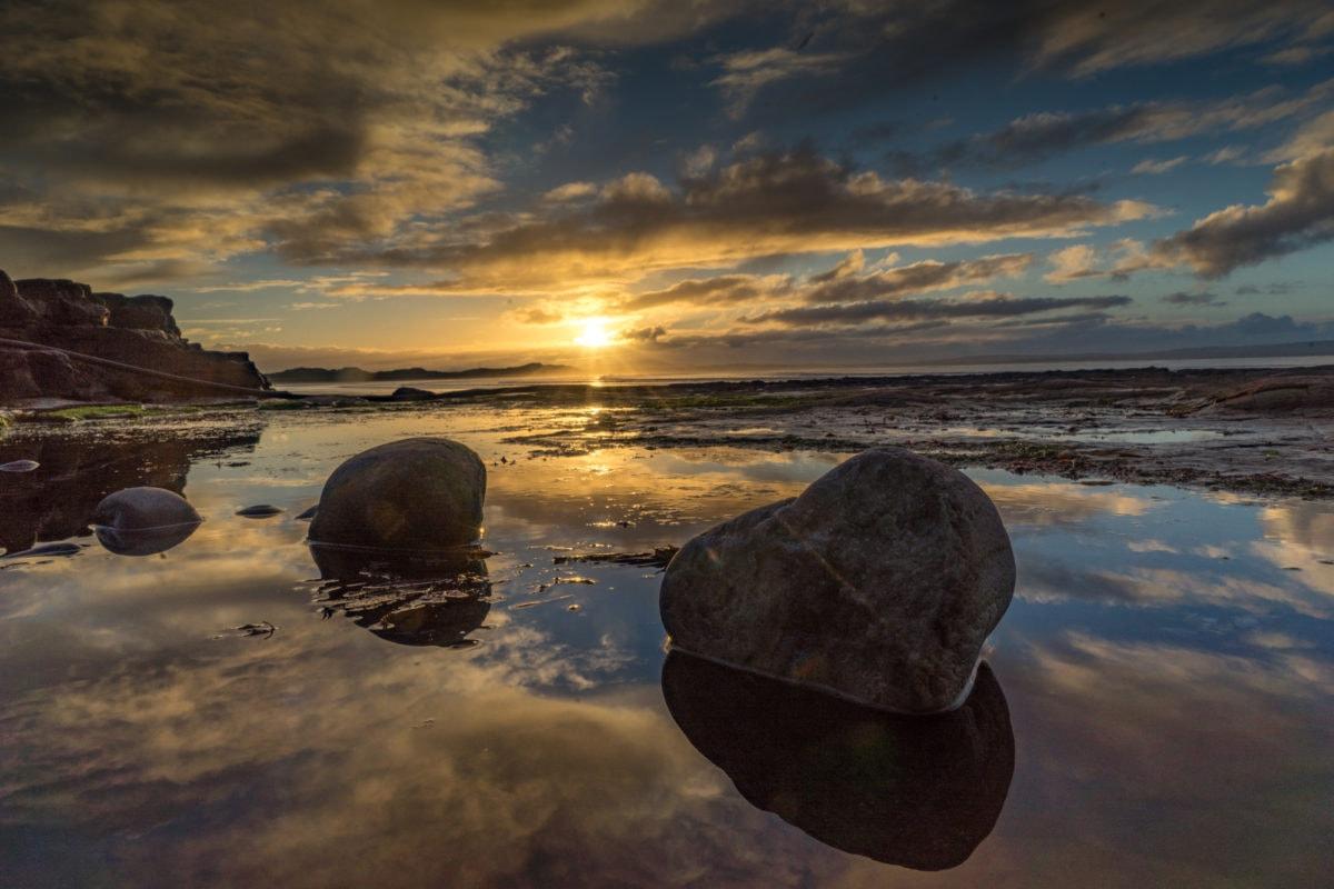 ireland sunset county sligo