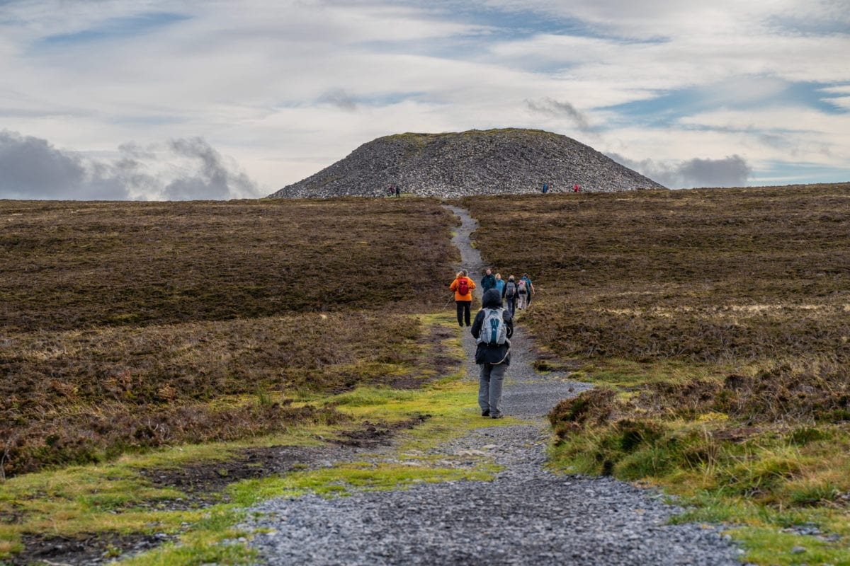 ireland landscapes Knocknarea