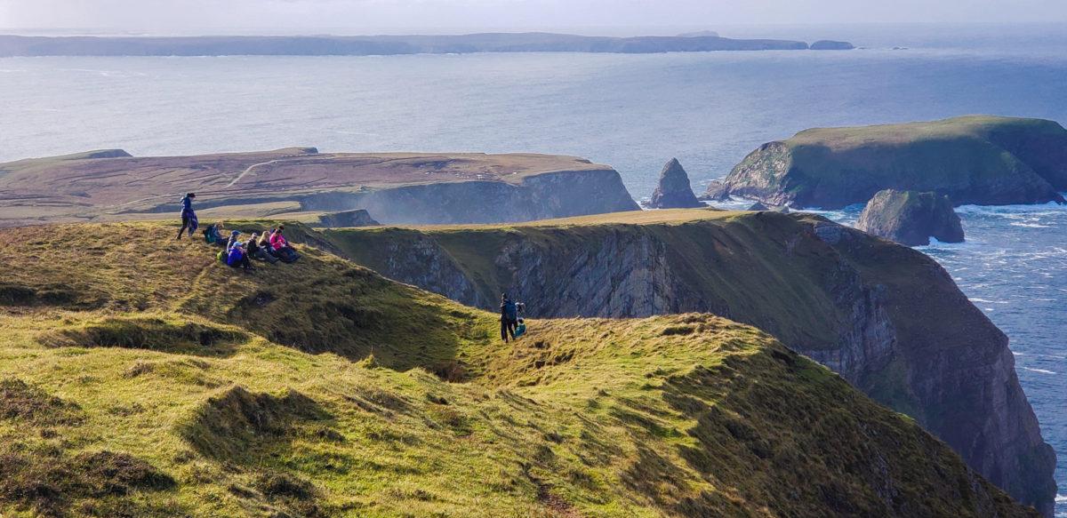 County Mayo cliffs