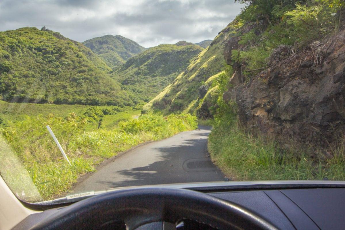 kahekili highway dangrous road