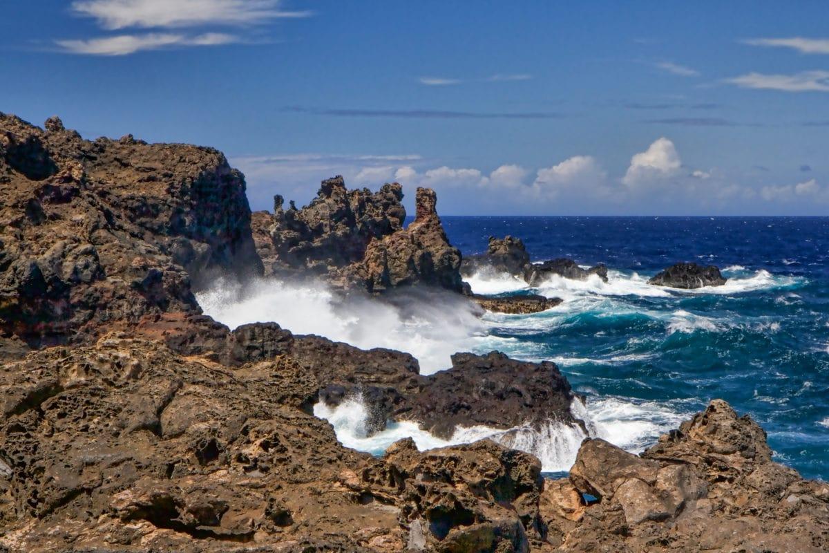 Nakalele Blow Hole coastline