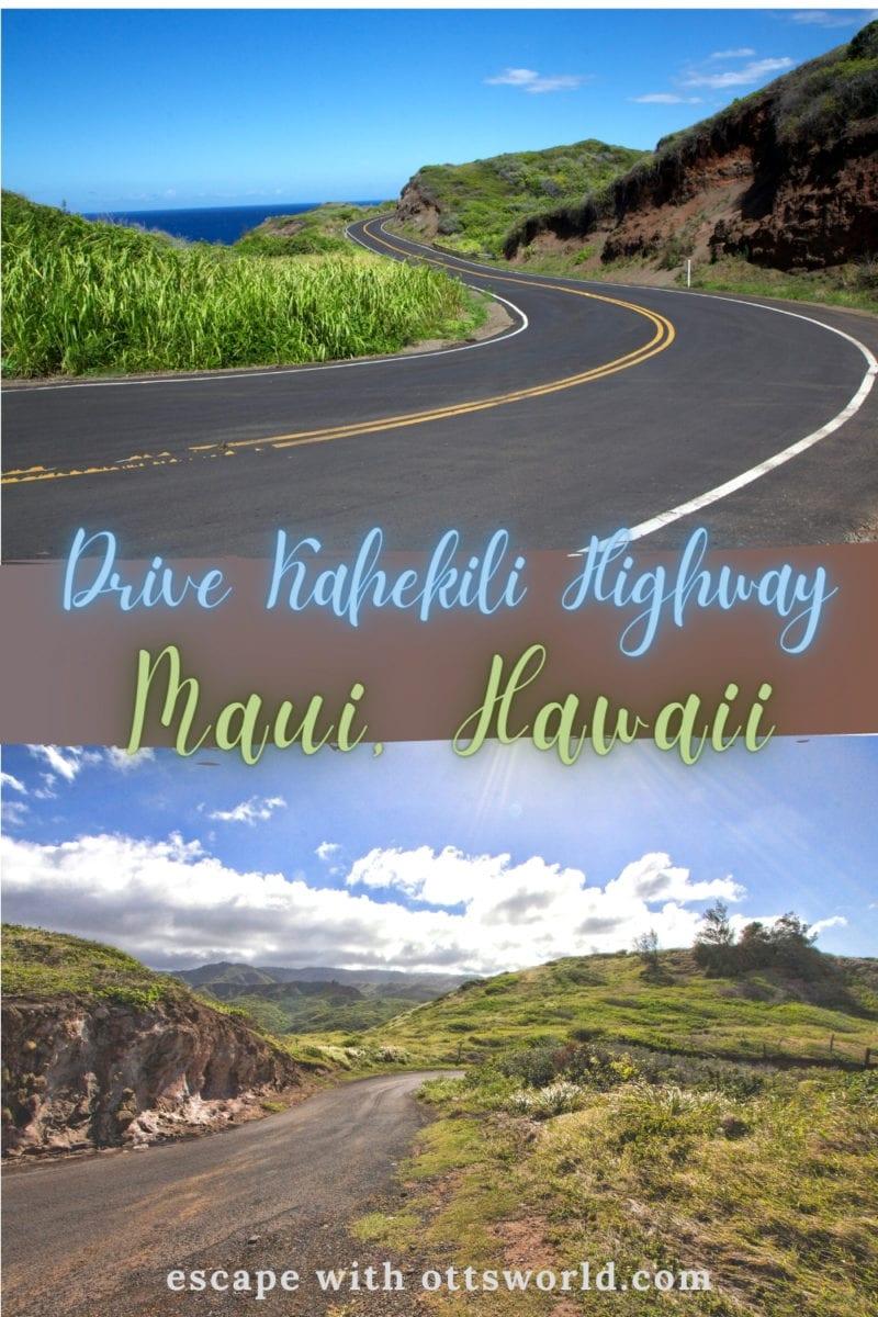 Kahekili Highway Maui Hawaii