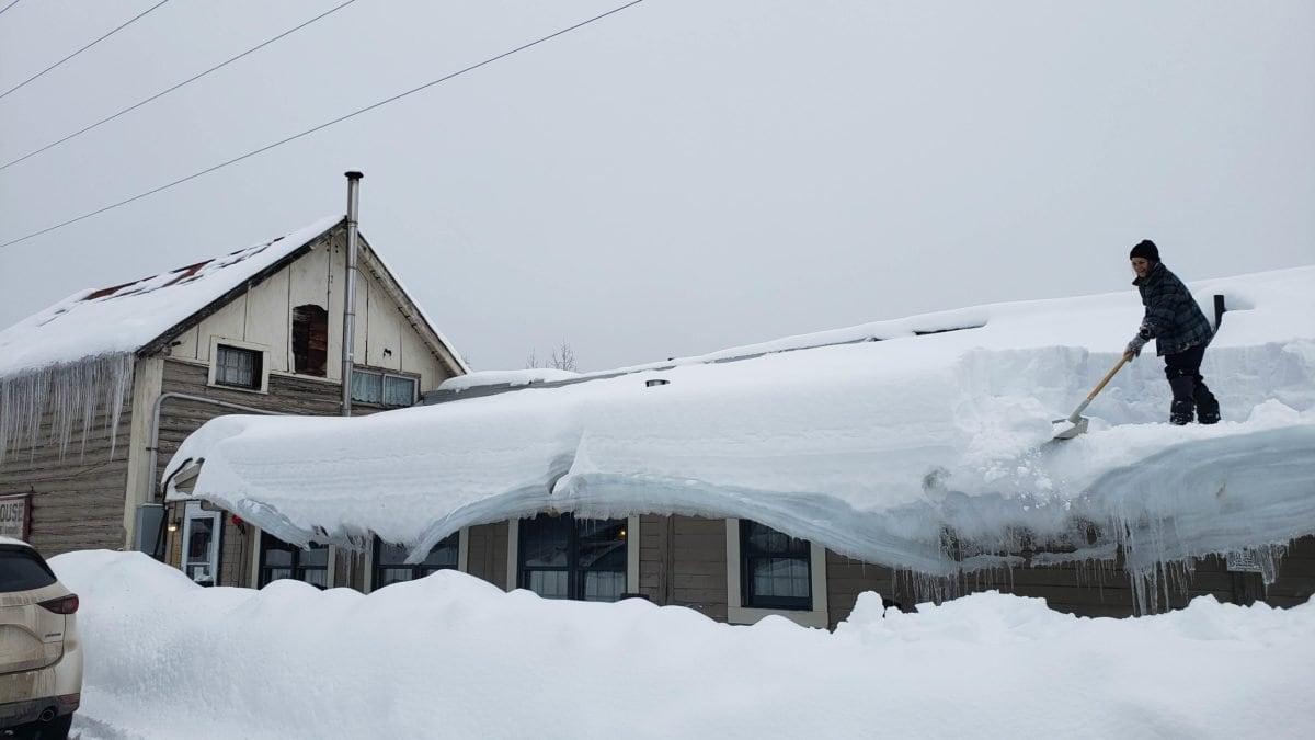 Roadhouse Talkeetna snow