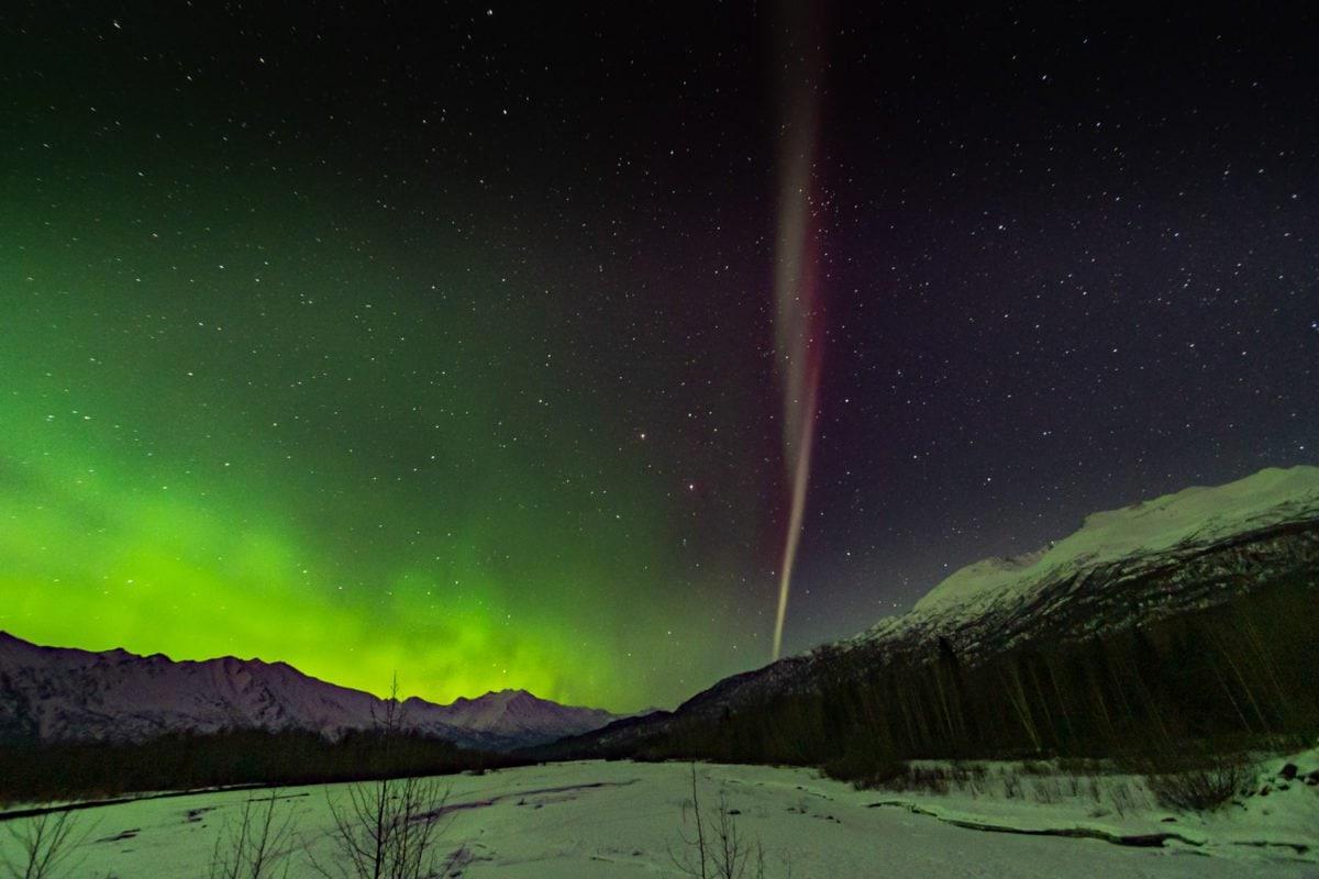 STEVE aurora alaska