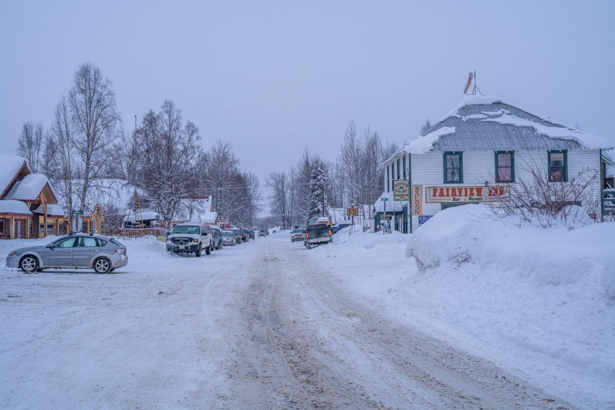 Talkeetna in winter