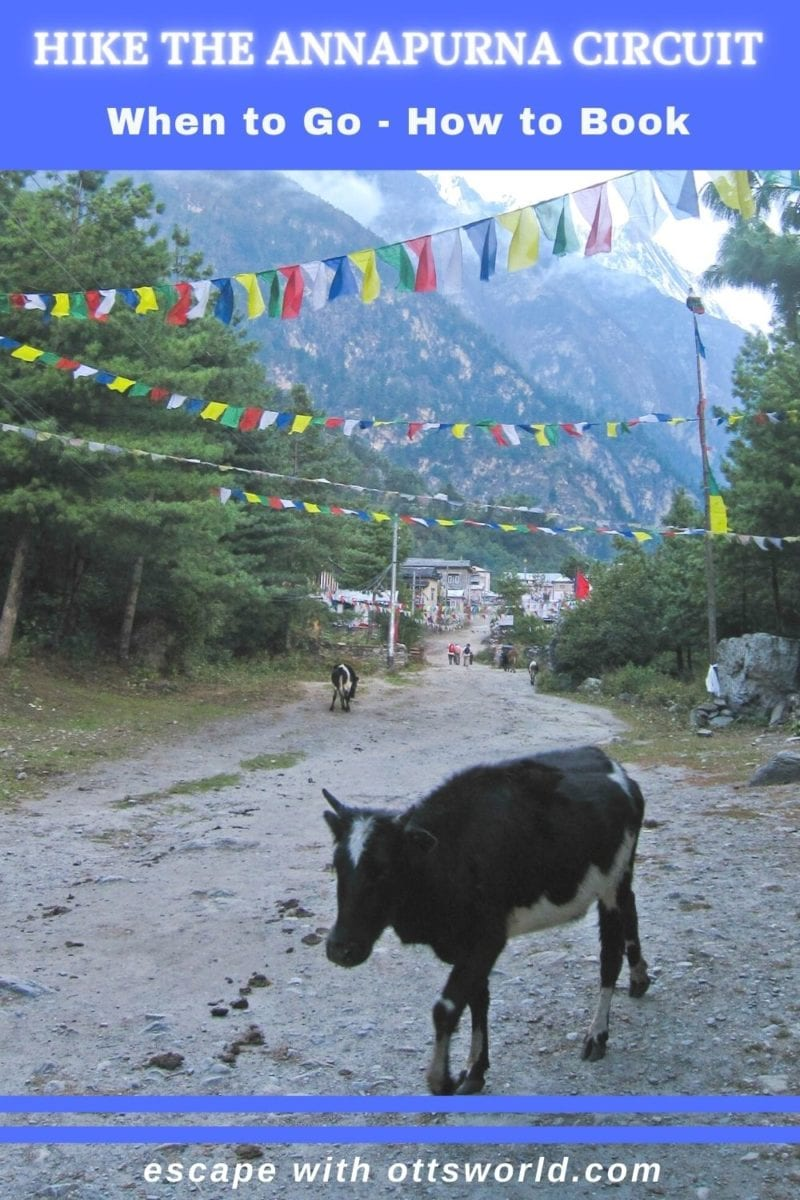 Hiking the Annapurna Circuit in Nepal