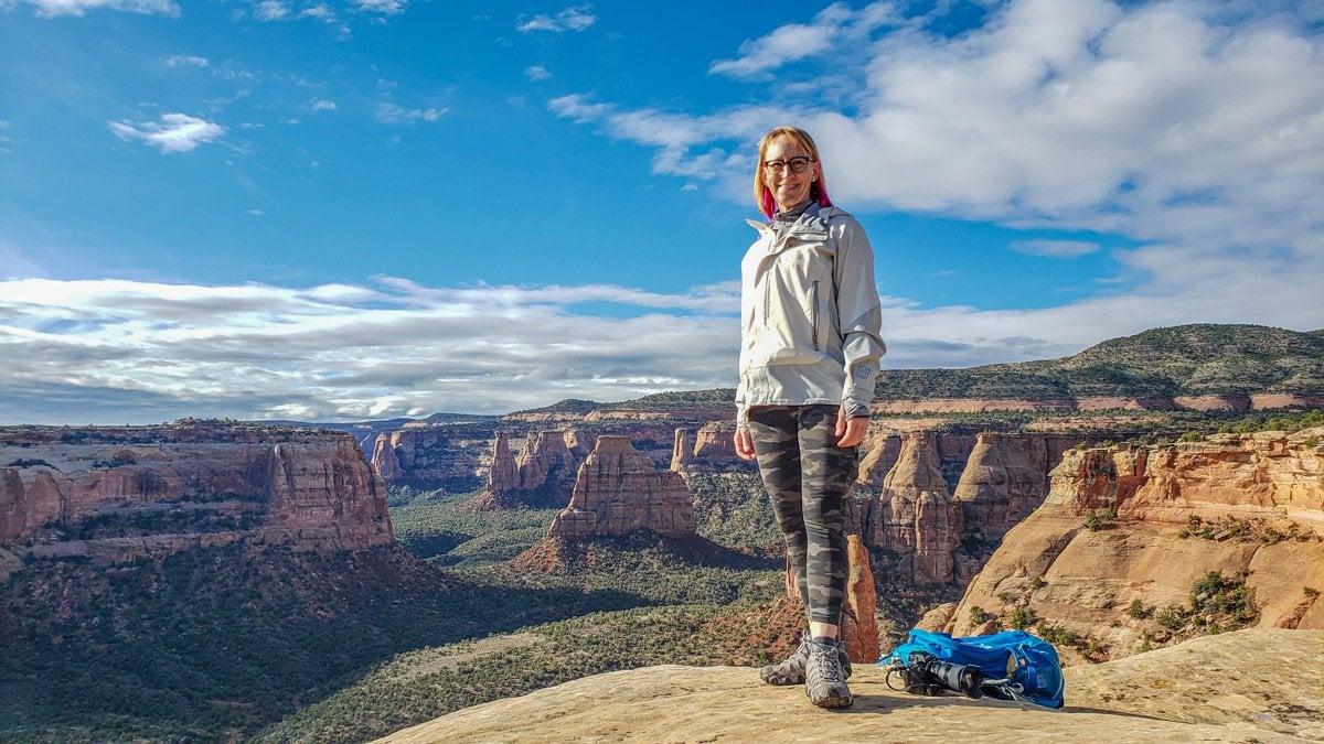 Canyon Rim Trail Colorado National Monument