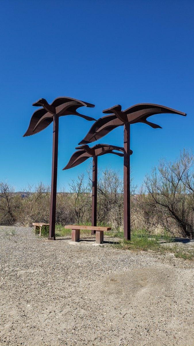 Colorado River Trail Art Grand Junction