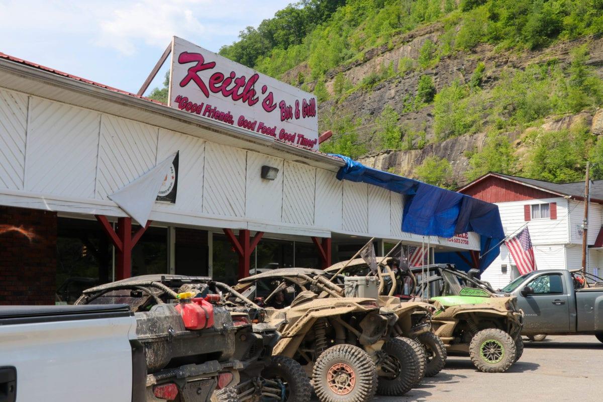 ATV hangout hatfield and mccoy trails