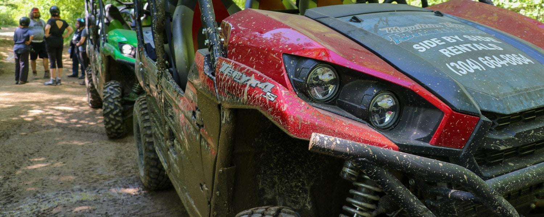 hatfield and mccoy ATV trails