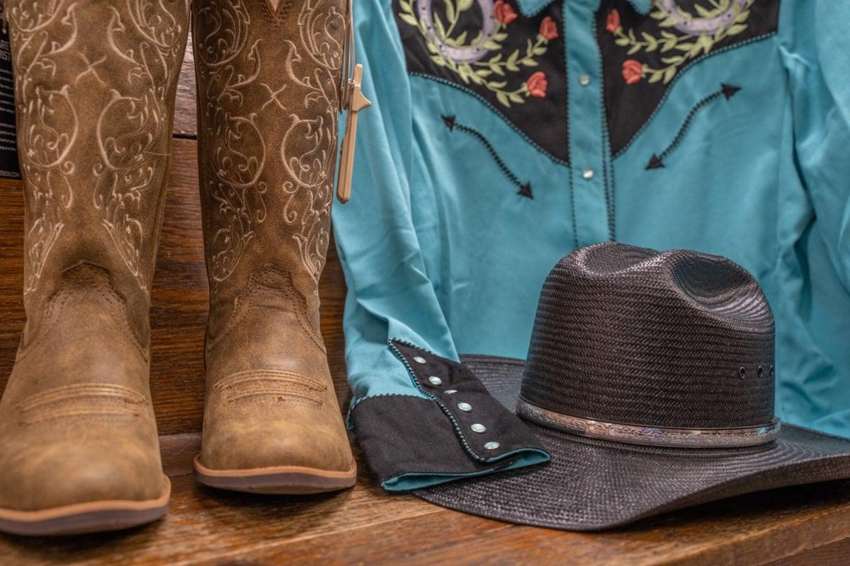 western horseback riding apparel