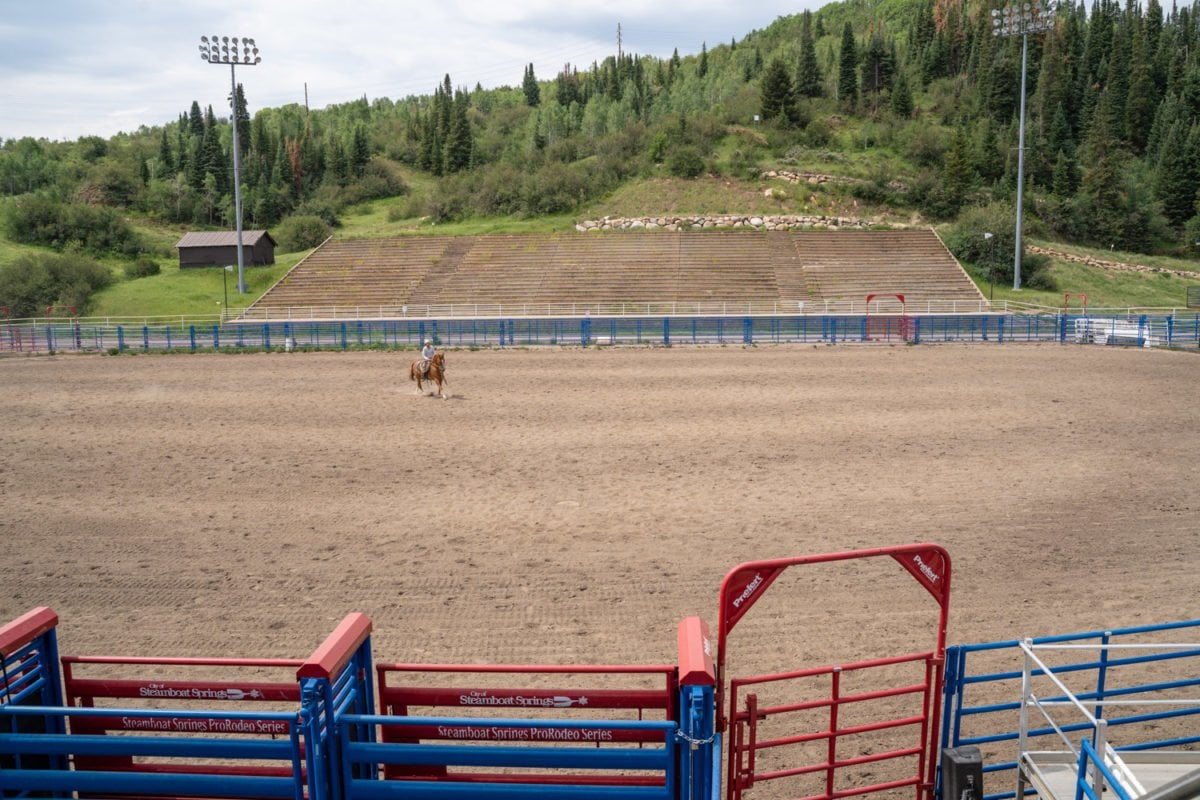 rodeo grounds