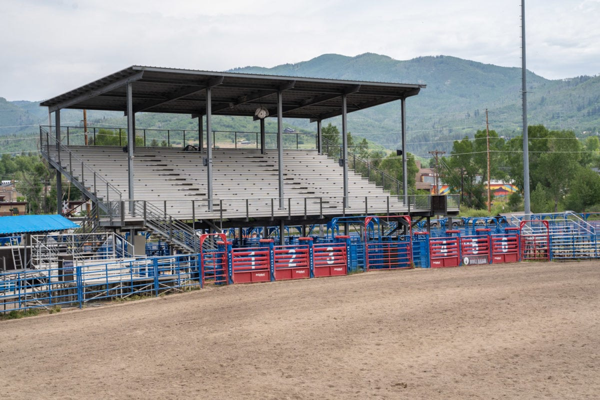 rodeo grandstand