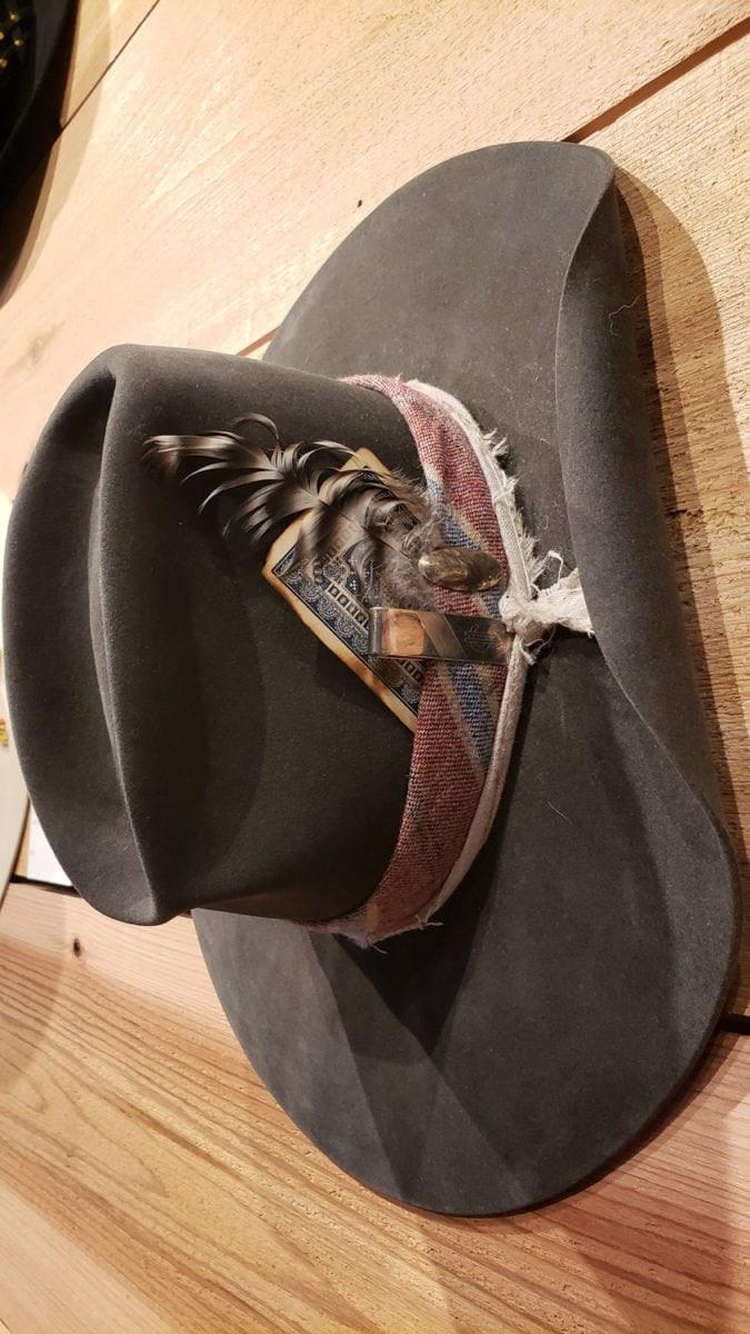 Steamboat hatter