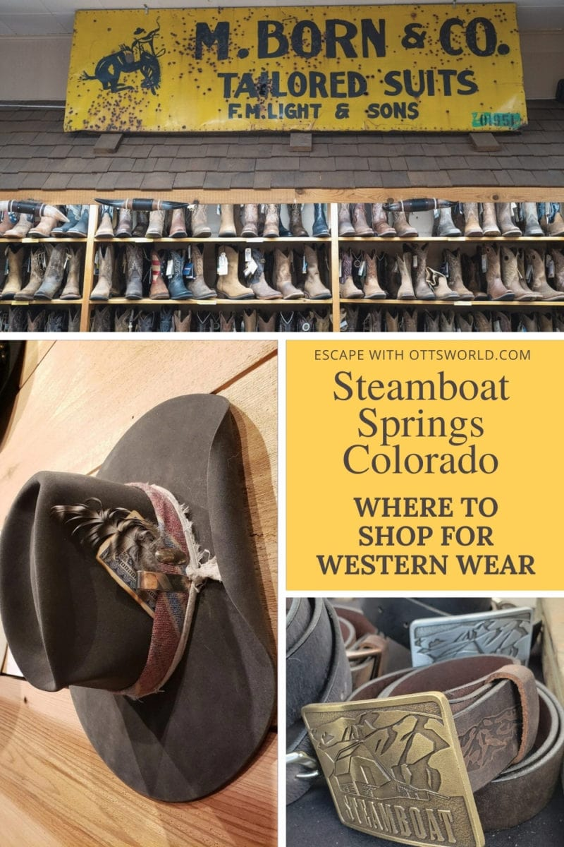 Where to Shop for Western Wear in Steamboat Springs, Colorado