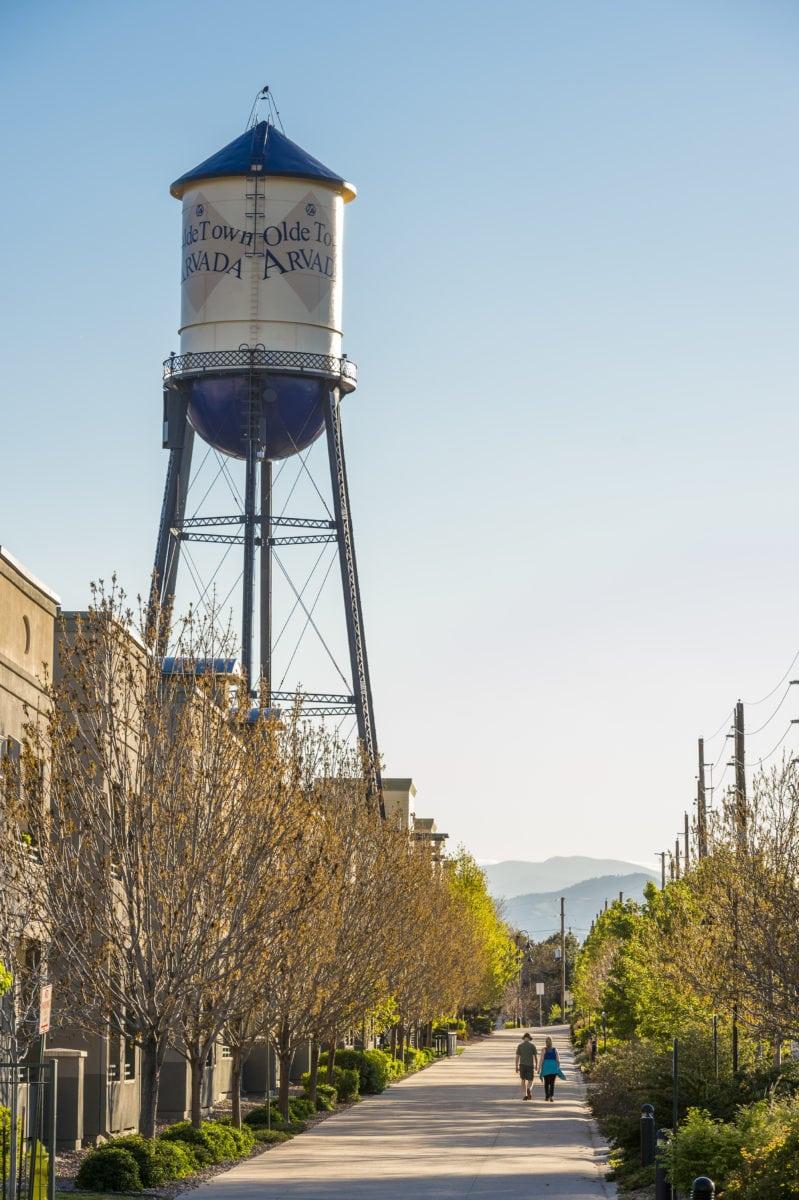 olde town arvada water tower