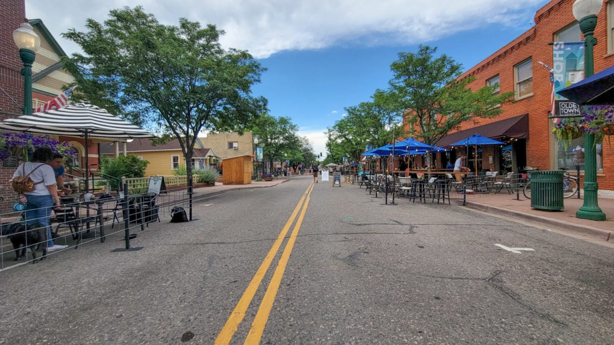Olde Town Arvada streets