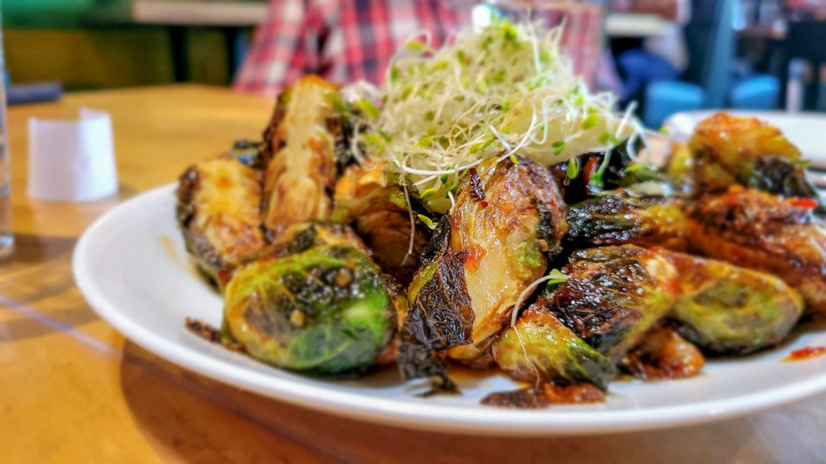 brussel sprouts so radish