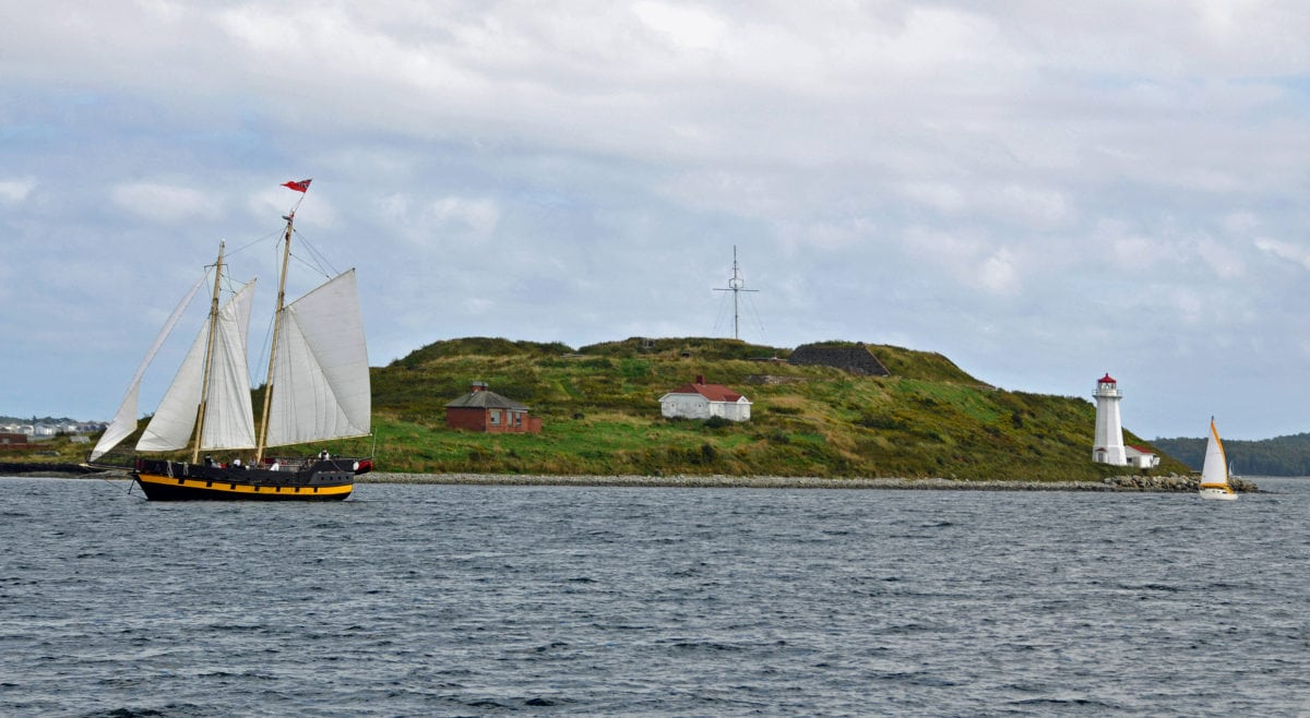 places to go in nova scotia georges island