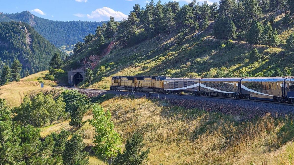luxury train travel to Denver