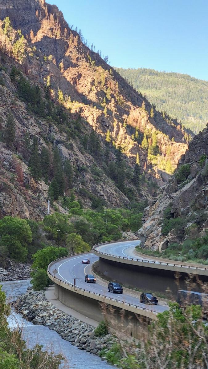 Glenwood canyon interstate