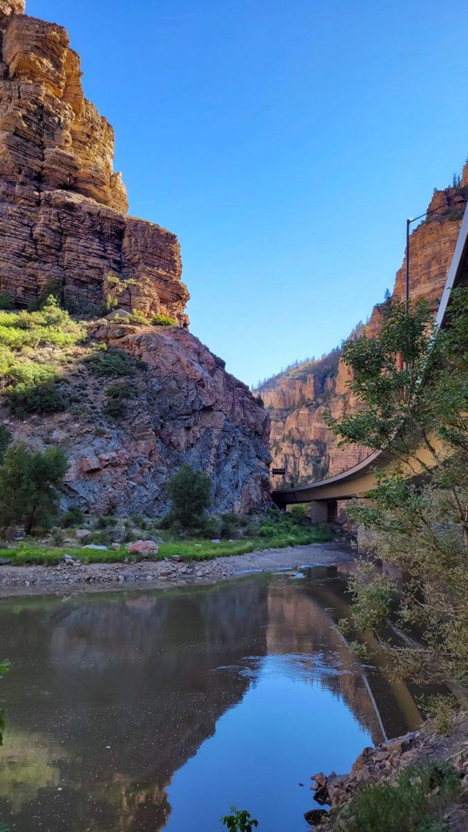 glenwood canyon colorado river