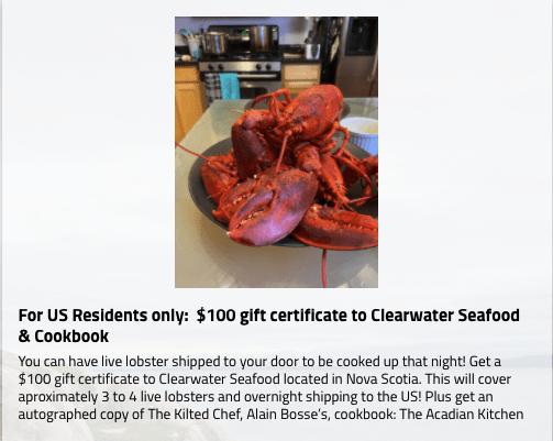 lobster winner
